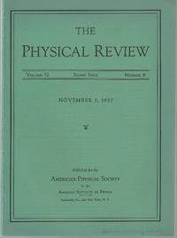 Field Theory of Nuclear Interaction (Physical Review; Volume 52 No. 9, pp. 906-910)
