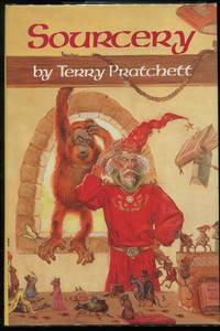 Sourcery by  Terry Pratchett - Hardcover - Book Club Edition - 1989 - from Evening Star Books and Biblio.co.uk