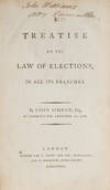 View Image 1 of 4 for A Treatise on the Law of Elections, In All Its Branches, 1st edition Inventory #71507