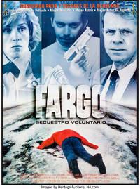FARGO (1996) Spanish one sheet