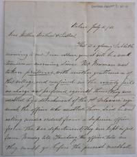 MANUSCRIPT LETTER, SIGNED BY