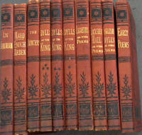 The Works of Alfred Tennyson (Cabinet Edition series) - 10 volumes