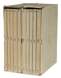 Crisis, September, 1938, a Complete and Verbatim Transcript... 10 Vols