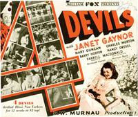 image of 4 Devils [Four Devils] (Original herald from the 1928 film)