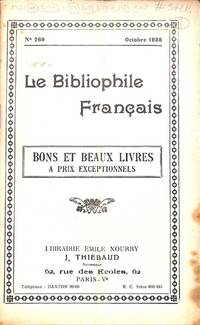 Catalogue 269/1935 : by  ÉMILE - PARIS NOURRY - from Frits Knuf Antiquarian Books (SKU: 57214)
