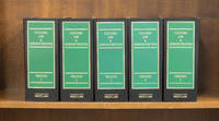 Customs Law & Administration 3d. Treaties. 5 Vols thru December 2015
