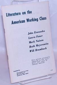 image of Literature on the American working class