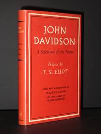 John Davidson. A Selection of his Poems