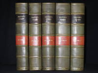 A Topographical History of Surrey (Complete in Five Volumes)
