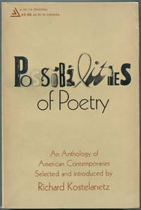 Possibilities of Poetry: An Anthology of American Contemporaries