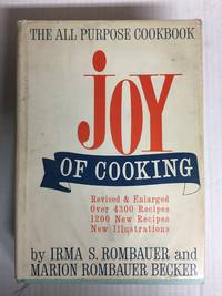 image of Joy of Cooking - Revised & Enlarged Over 4300 Recipes 1200 New Recipes & New Illustrations)