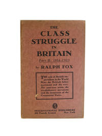 The Class Struggle in Britain in the Epoch of Imperialism. Part II: 1914-1923