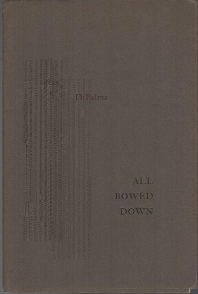 Providence, RI: Burning Deck, (1972). First Edition. Wraps. Near fine. 8vo. publisher's plain wraps ...