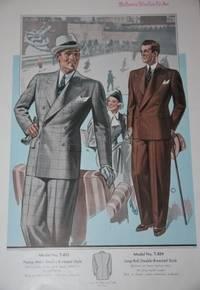 New York: Reliance Woolen Co., Inc.. Cardboard, Fine Spiral. Very Good. Folio-sized trade catalogue....