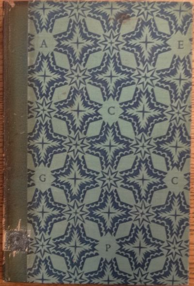 London: Golden Cockerel Press, 1932. Limited edition, 133/500 copies, this one most likely bound by ...