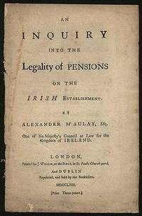 An Inquiry into the Legality of Pensions on the Irish Establishment