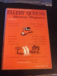 Ellery Queen's Mystery Magazine, September 1958, Volume 32, Number 2 by  Editor  Ellery - Paperback - First edition - 1948 - from Scraps of American History/Greenberry House and Biblio.com