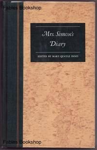 MRS. SIMCOE'S DIARY.