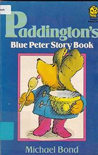 Paddington's Blue Peter Story Book (Lions) - Ex Library