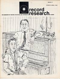 Record Research: The Magazine of Record Statistics and Information, Issue 27, March/April 1960