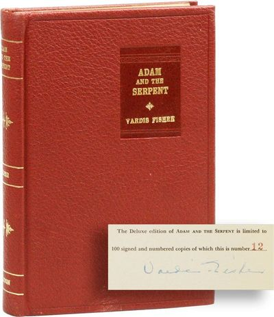New York: Vanguard Press, 1947. First Edition. Limited to 100 copies of which this is no. 12. Octavo...