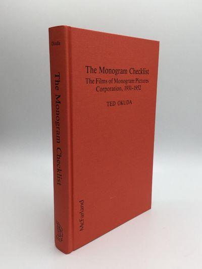 Jefferson, North Carolina and London: McFarland & Company, Inc, 1987. First Edition. Hardcover. Fine...