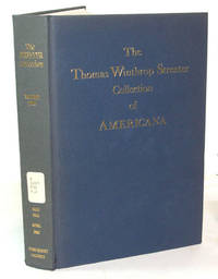 image of The Celebrated Collection of Americana Formed By The Late Thomas Winthrop Streeter (Volume II)