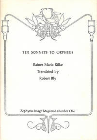 Ten Sonnets to Orpheus by  Rainer Maria Rilke - First printing - 1972 - from Passages Bookshop (SKU: 003452)