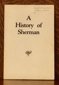 image of A HISTORY OF SHERMAN MAINE