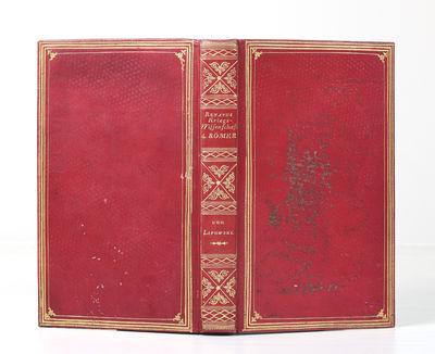 xvi, 320 pp. 8vo, cont. red sheep maroquiné (upper cover a little rubbed & soiled), quadruple gilt ...