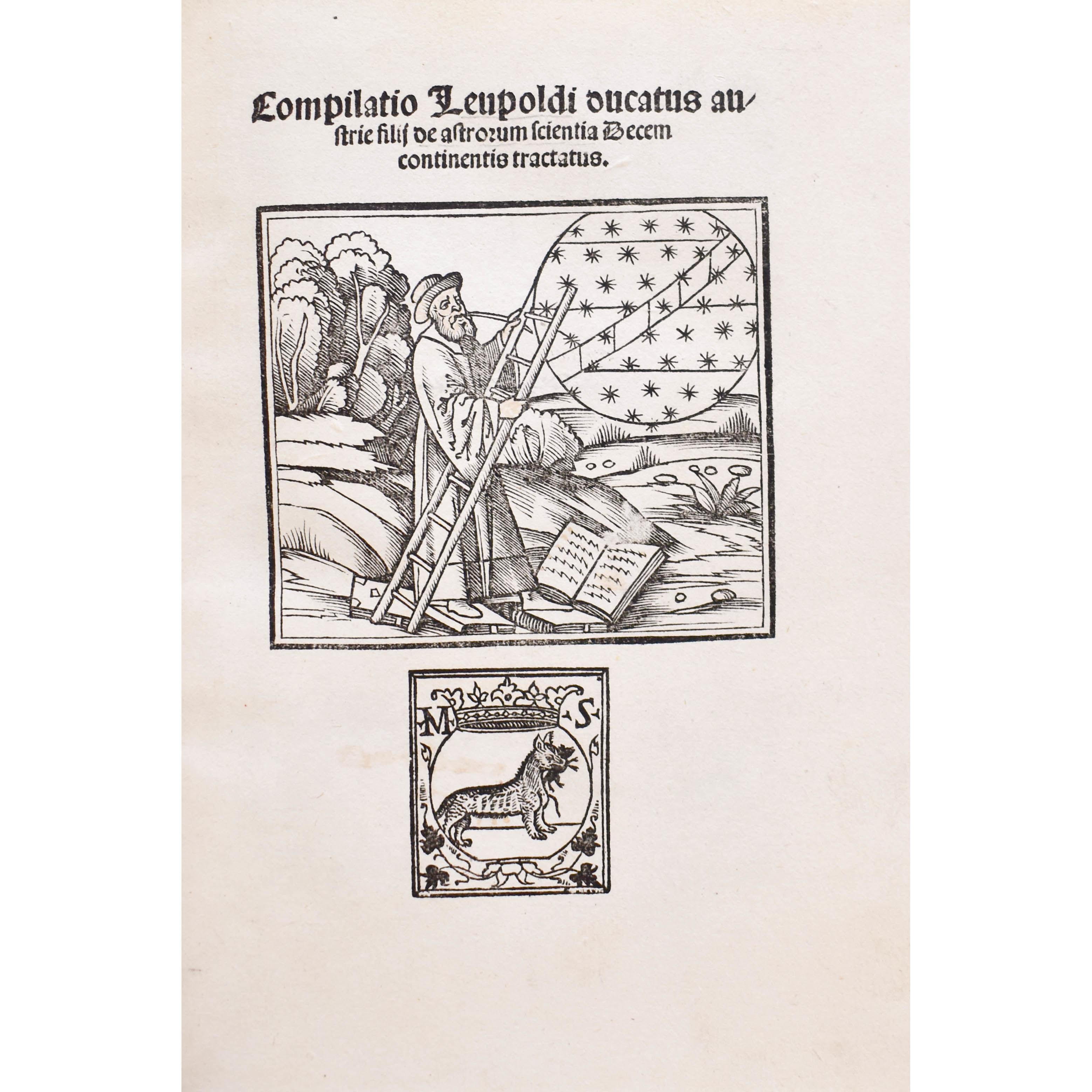 Compilatio Leupoldi ducatus austrie de astrorum scientia Decem continentis tractatus. (photo 4)