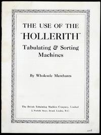 The use of the Hollerith tabulating & sorting machines by wholesale merchants
