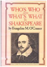 image of WHO'S WHO and WHAT'S WHAT in SHAKESPEARE