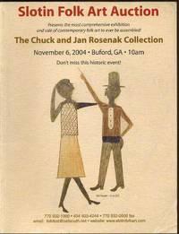 Slotin Folk Art Auction : The Chuck and Jan Rosenak Collection (November 6, 2004)