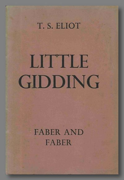 London: Faber and Faber, 1942. Sewn printed wrappers. First edition, preferred binding (sewn rather ...