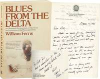 Blues from the Delta (Signed Softcover, with an ALS, actress Ruth Ford's copy)