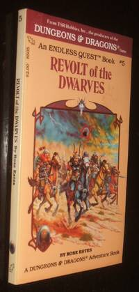 image of Revolt of the Dwarves A Dungeons and Dragons Adventure Book