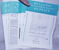 image of BULLETIN OF THE WORLD COUNCIL OF PEACE 1962-1963 10 issues