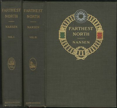 New York: Harper & Brothers, 1898. Hardcover. Near Fine. First edition. Two volumes. Tall octavos. 5...