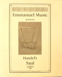 Emmanuel Music Presents Handel's Saul