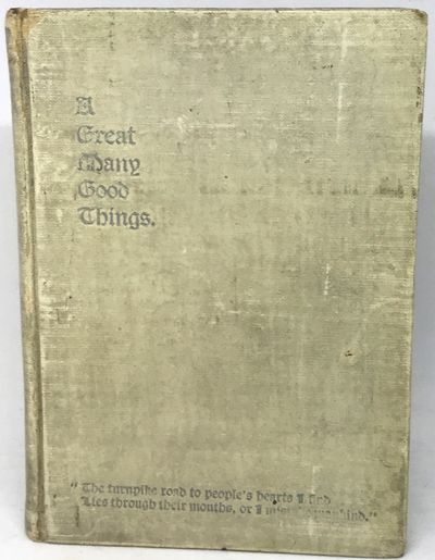 Pittsburgh: Murdoch, Kerr & Co., c. 1895. Hardcover. White oil cloth covered boards. Very good. 128 ...