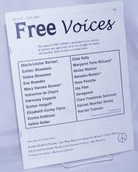 image of Free Voices: Issue #2, July 2003