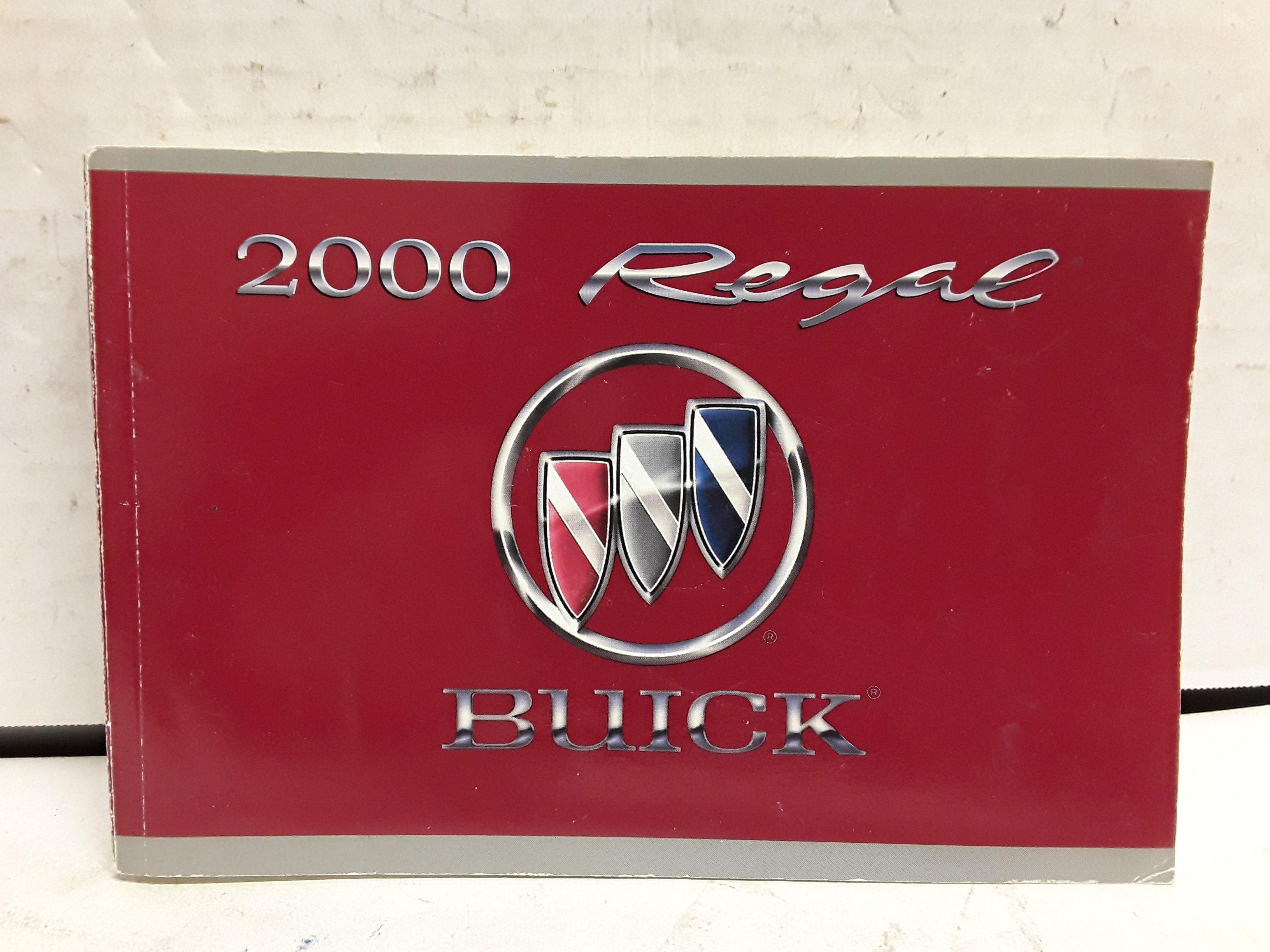 2000 buick regal owners manual