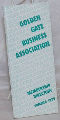 image of GGBA Membership Directory: Summer 1985