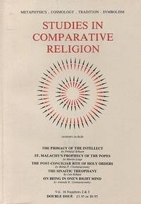 STUDIES IN COMPARATIVE RELIGION, VOL 16, NUMBERS 3 & 4 by  Peter; Ralph Smith; Olive Clive-Ross (eds.) Hobson - Paperback - 1984 - from By The Way Books and Biblio.com