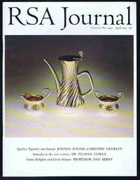 RSA Journal No. 5438 April 1993: The Journal of the Royal Society for the Encouragement of Arts,...