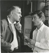 image of The Power and the Glory (Original photograph of Laurence Olivier and Roddy McDowell in conversation on the set of the 1961 television film)