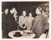 image of The Last of Mrs. Cheyney (Original photograph of Joan Crawford, William Powell, and others from the set of the 1937 film)