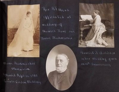 This album contains photos that depict members of the Bailey and Starkweather families of Kenosha Co...