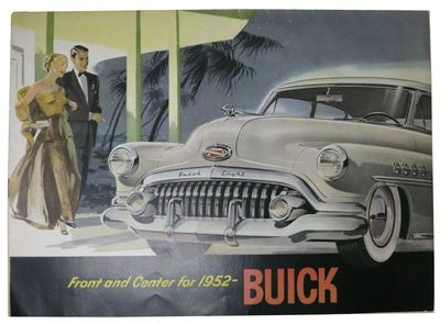 U.S.A.: General Motors Corporation, Buick Division, 1952. 1st Printing thus. Printed self-wrappers, ...